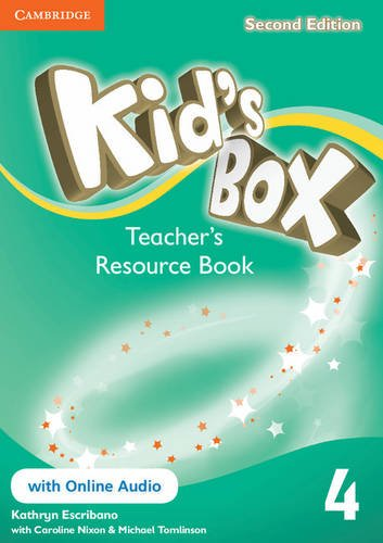 Kid's Box Second edition 4 Teacher's Resource Book with Online Audio