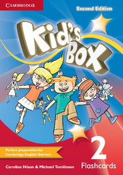Kid's Box Second edition 2 Flashcards (Pack of 103)