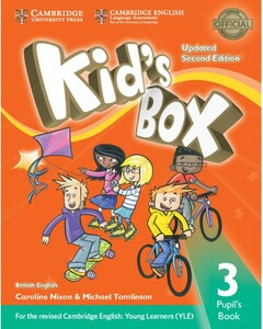 Kid's Box Updated 2nd Edition 3 Pupil's Book (9781316627686)