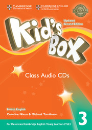 Kid's Box Updated 2nd Edition 3 Class Audio CDs (3)