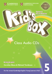 Kid's Box Updated 2nd Edition 5 Class Audio CDs (3)