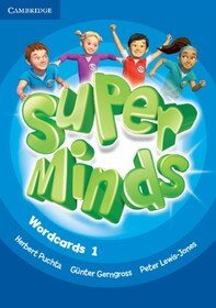 Super Minds 1 Wordcards (Pack of 90)