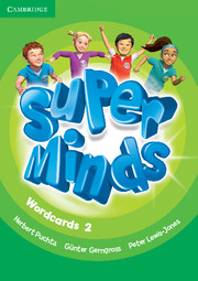 Super Minds 2 Wordcards (Pack of 81)