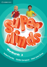 Super Minds 3 Wordcards (Pack of 83)