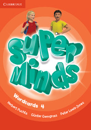 Super Minds 4 Wordcards (Pack of 89)