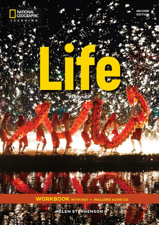 Фото Life 2nd Edition Beginner WB with Key and Audio CD.