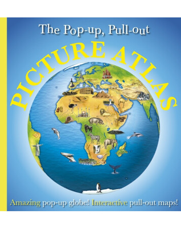 Фото Pop-up, Pull-out, Picture Atlas.