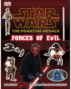 Star Wars The Phantom Menace Ultimate Sticker Book Forces of Evil