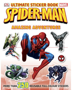 Spider-Man Ultimate Sticker Book Amazing Adventures