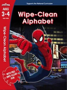 Spider-Man: Wipe-Clean Alphabet Ages 3-4 - Marvel Learning