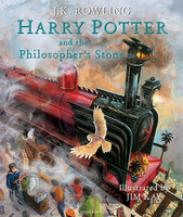 Harry Potter 1 Philosopher's Stone Illustrated Edition [Hardcover]