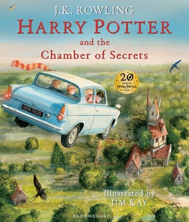 Harry Potter 2 Chamber of Secrets Illustrated Edition [Hardcover]