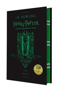Harry Potter 1 Philosopher's Stone - Slytherin Edition [Hardcover] (9781408883761)