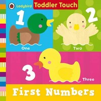 First Numbers - Ladybird Toddler Touch