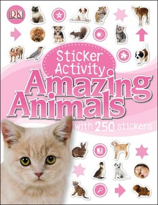 Sticker Activity Amazing Animals