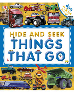 Hide and Seek Things That Go (eBook)