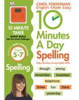 10 Minutes A Day Spelling KS1
