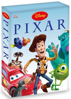 Pixar Character Encyclopaedia & Sticker Book Slipcase Set