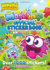 Moshi Monsters: Moshlings Official Sticker Book