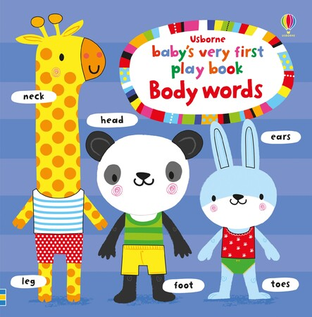 Фото Baby's very first playbook body words.