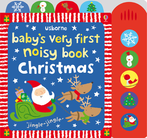 Фото Baby's very first noisy book: Christmas.