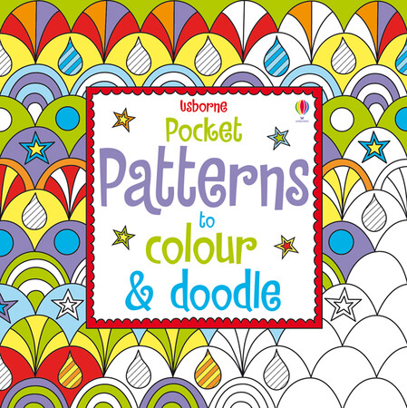 Фото Pocket patterns to colour and doodle.
