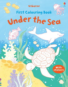 Under the sea - First colouring books