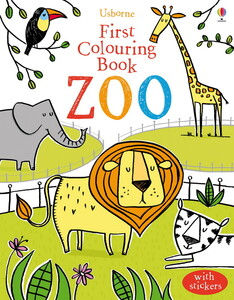 Zoo - First colouring books - old