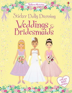 Weddings and bridesmaids - Sticker dolly dressing