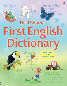Usborne first English dictionary