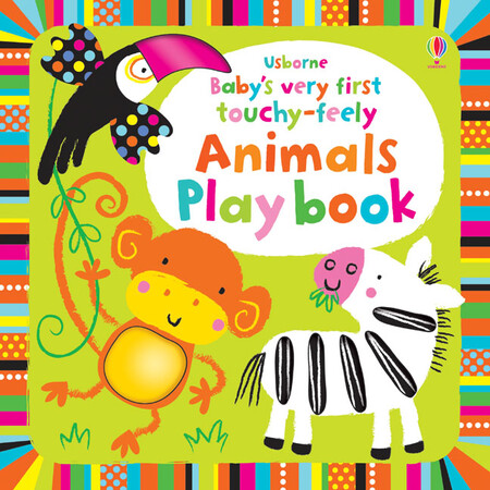 Фото Baby's very first touchy-feely animals play book.