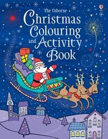 Christmas Colouring and Activity Book Usborne