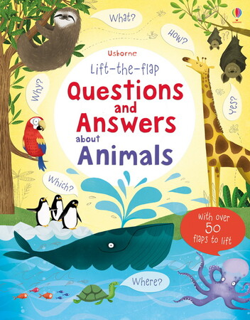 Фото Lift-the-flap questions and answers about animals.