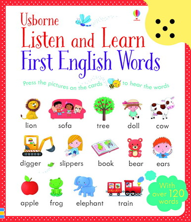Фото Listen and Learn First English Words.