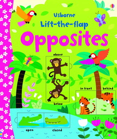 Lift-the-flap Opposites