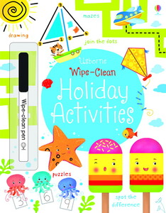 Wipe-clean Holiday Activities