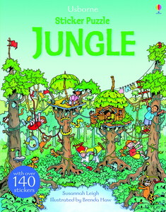 Sticker Puzzle Jungle