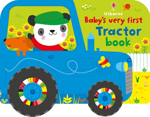 Фото Baby's very first tractor book.