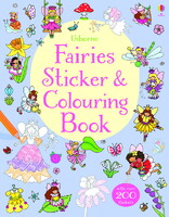 Fairies Sticker & Colouring Book