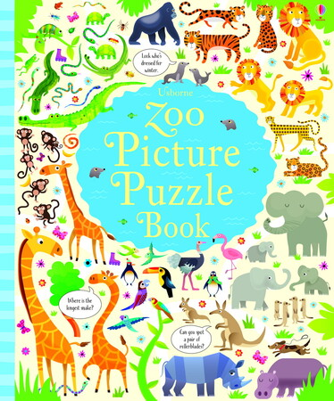 Фото Zoo Picture Puzzle Book.