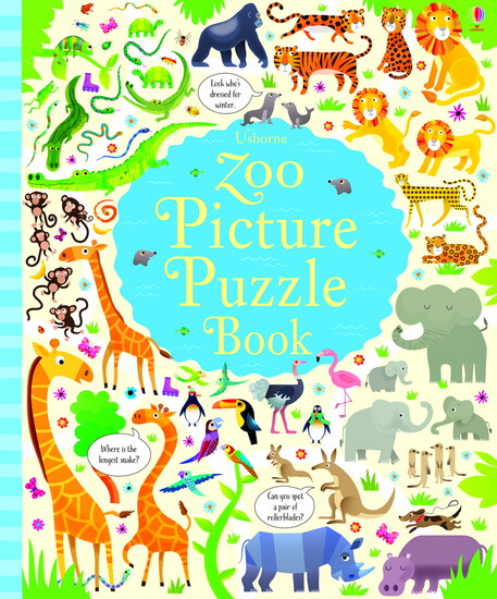 Zoo Picture Puzzle Book