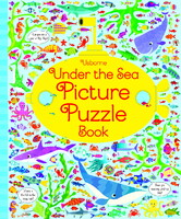 Under the Sea Picture Puzzle Book - мягкая обложка