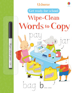 Wipe-clean words to copy (Get ready for school)