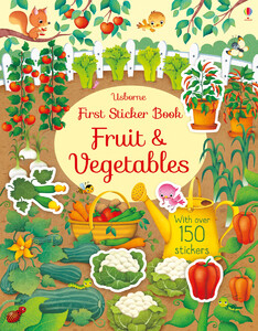 Fruit and vegetables - First sticker books