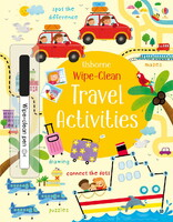 Wipe-clean travel activities