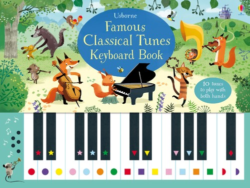 Фото Famous classical tunes keyboard book.