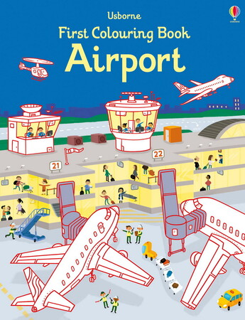 Airport - First colouring book