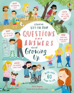 Lift-the-Flap Questions & Answers about Growing Up (9781474940122)