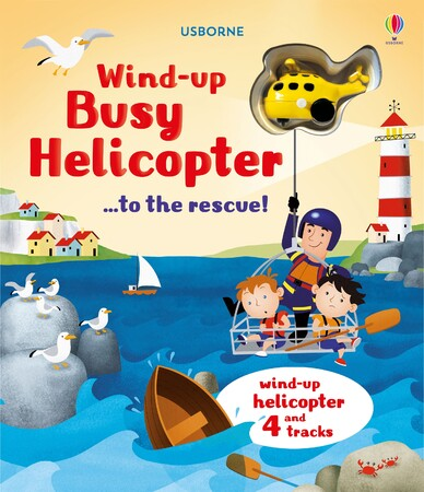Фото Wind-up busy helicopter...to the rescue.