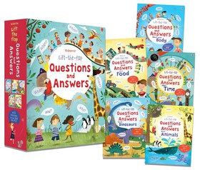LIFT-THE-FLAP QUESTIONS AND ANSWERS - 5 книг в комплекте